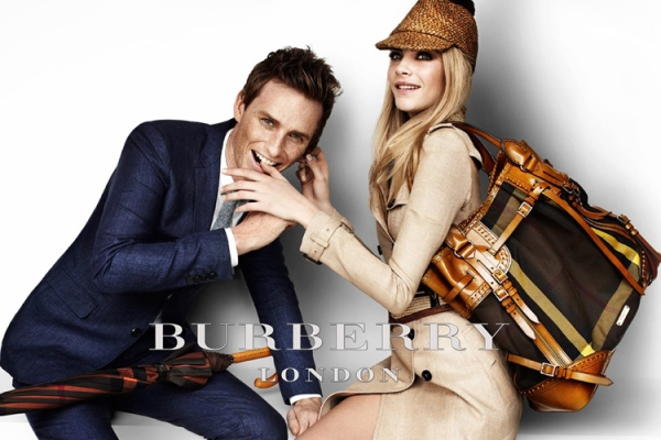 Burberry Cara and Eddie bite