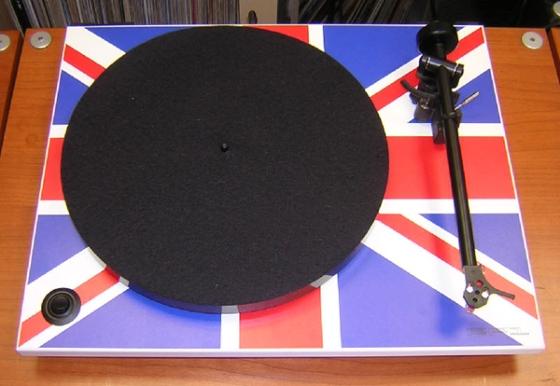 Rega RP1 Union Jack