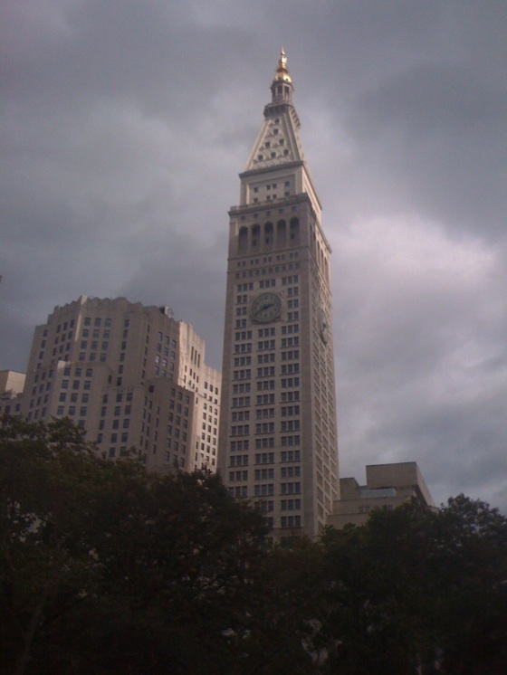 The Woolworth Building, one of New York City's great classic skyscapers