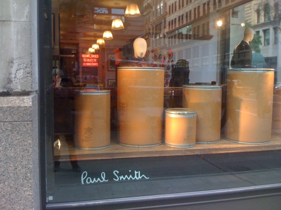 Exterior of Paul Smith shop on Lower Fifth Avenue, New York City