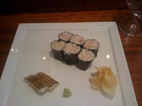 Freshest sushi and sashimi at 15 East, Union Square, Manhattan