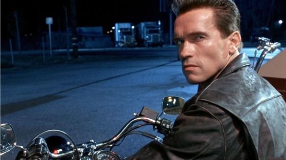 Arnold Schwarzenegger Terminator 2.